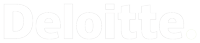 White Deloitte Financial Logo