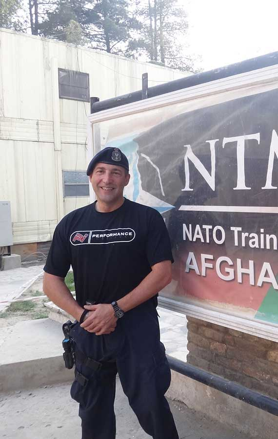 Tony Z in Afghanistan
