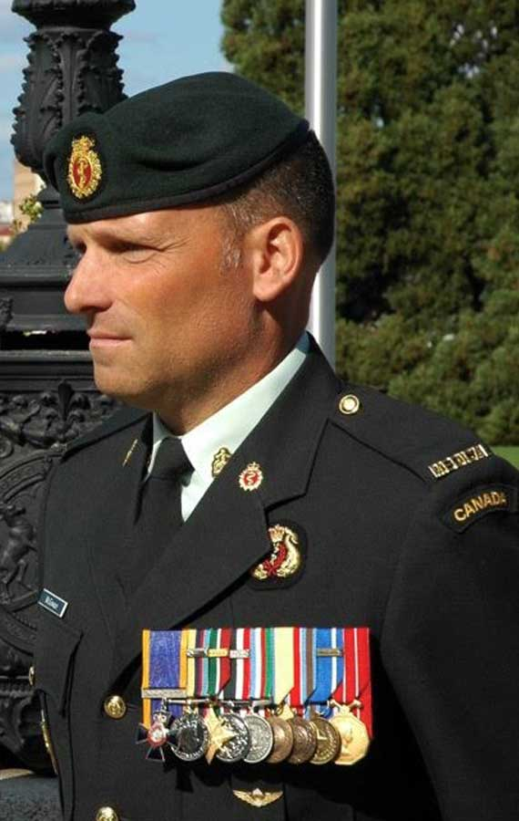 Todd M. Canadian Army Medic