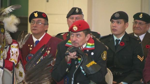 Melvin S. Indigenous Canadian Veteran