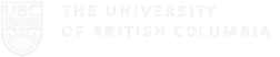 White full width University of British Columbia Logo