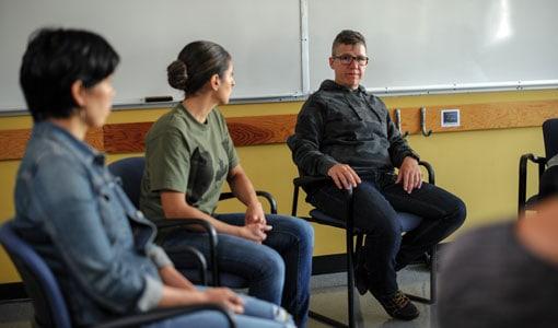 veterans transition program underway