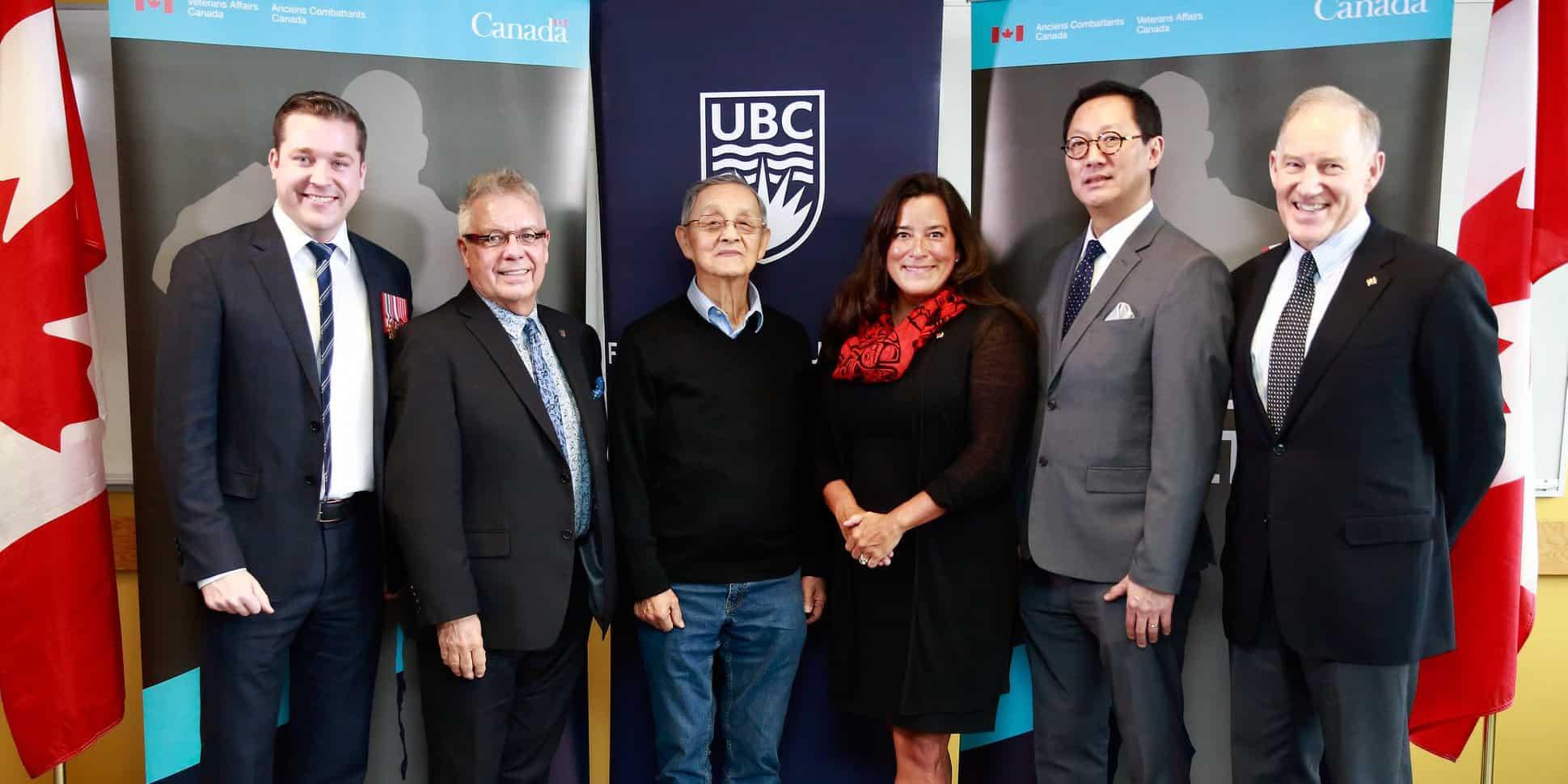 Veterans Affairs Canada at UBC