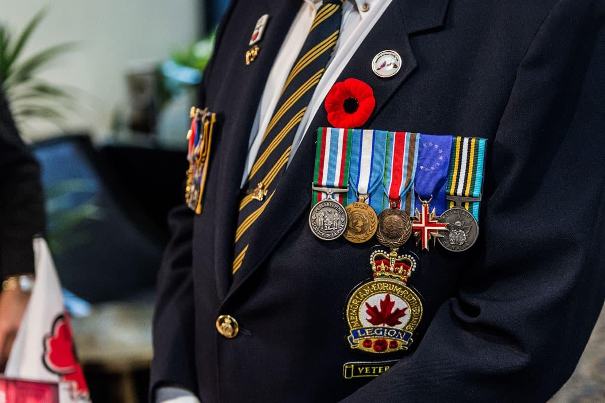 royal canadian legion uniform